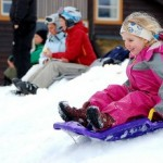 Keeping Kids Safe When Sledding