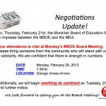 "Montclair Teachers May Begin ""Work To Contract"" Next Tuesday (Updated)"