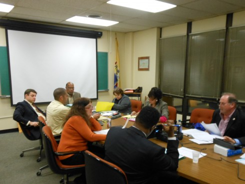 The Montclair Township Council in conference