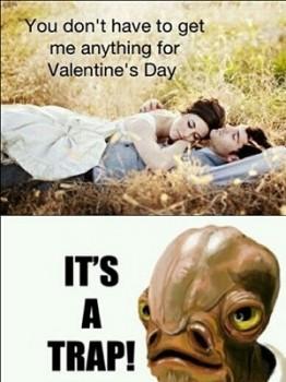 Valentines Day Trap