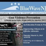 BlueWaveNJ Holding Montclair Forum on Gun Issues Tomorrow