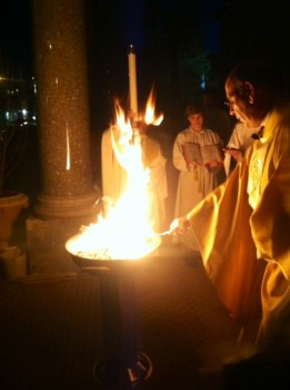 Easter vigil, Immaculate Conception, Montclair