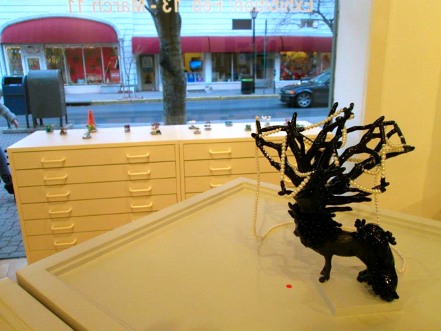 looking out of gallery loupe
