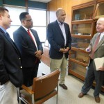 Rep. Frelinghuysen Meets Montclair Officials; Talks Social Security Building, Infrastructure