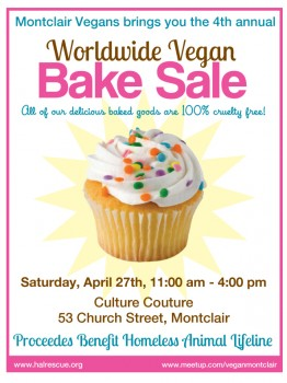 WW Vegan Bake Sale 2013