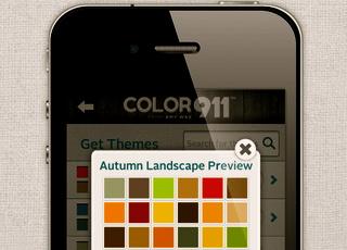 color 911 app autumn