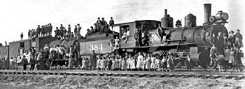 kids - train - long shot
