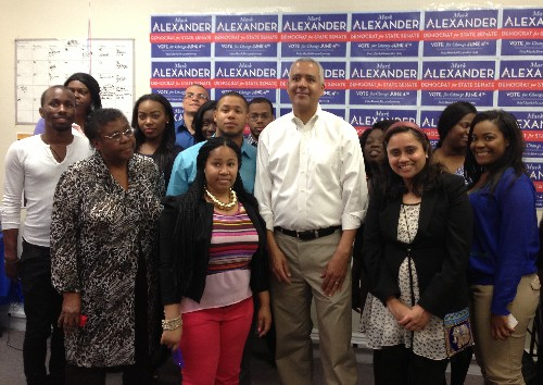 Mark Alexander Talks Returning Power to The People At Montclair Campaign Headquarters Launch