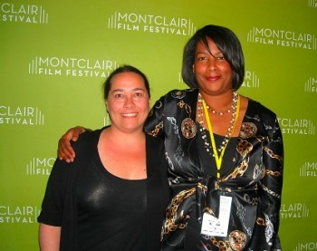 Dawn Porter (right) and Summer Damon at Gideon's Army MFF premiere.