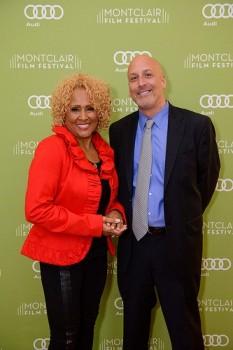 Darlene Love and Bob Feinberg.  Photo: Montclair Film Festival