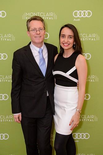 Thom Powers and Raphaela Neihausen. Photo: Montclair Film Festival