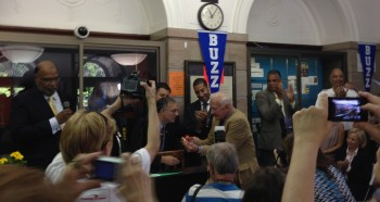 Buzz Aldrin Lands in Montclair!