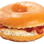 Glazed Donut Sandwich: It's What's for Breakfast