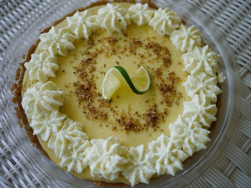 Coconut and Key Lime Pie