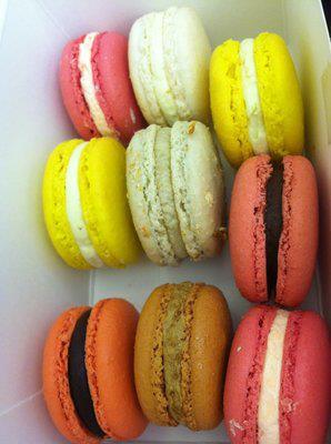 Macarons from Petit Paris