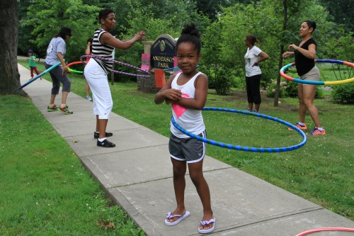 Hula Hoop Party