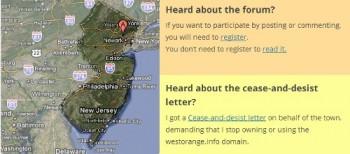west orange info site