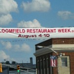 Go. Eat. Next Week. Bloomfield Restaurant Week 2013!