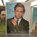 Spotted: Ryan Gosling at the Montclair Public Library!