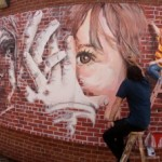 MSU Students' Latest Mural Project Inspired by Partners for Women and Justice