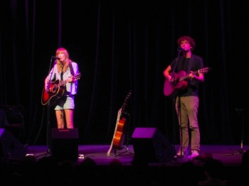 British Folker Beth Orton at SOPAC w Sam Amidon