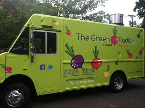 The Green Radish New Vegan Organic Food Truck Coming To