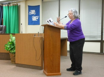 NJ Peace Action's Madeline Hoffman