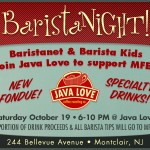 Join Us At Java Love For BaristaNight and Support MFEE