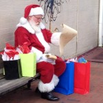 Ho Ho Ho! Santa Sighting In Montclair Center