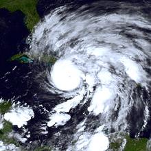 hurricane sandy eye of storm