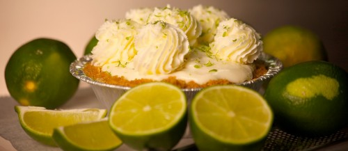 Key lime pie from The Pie Store, Watchung Plaza