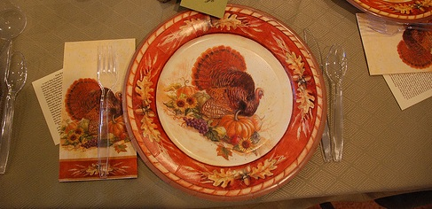 Thanksgiving paper plates - 8