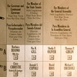 Christie Or Buono? Gill Or Cupoli? Plus Ballot Questions Explainer