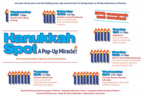 Hanukkah Pop Up