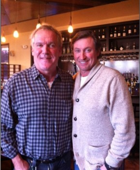12 West's Jerry Rubacky and Wayne Gretzky