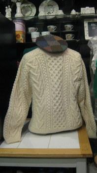 Gaeltarra Handknit Aran Wool Sweater $275.00