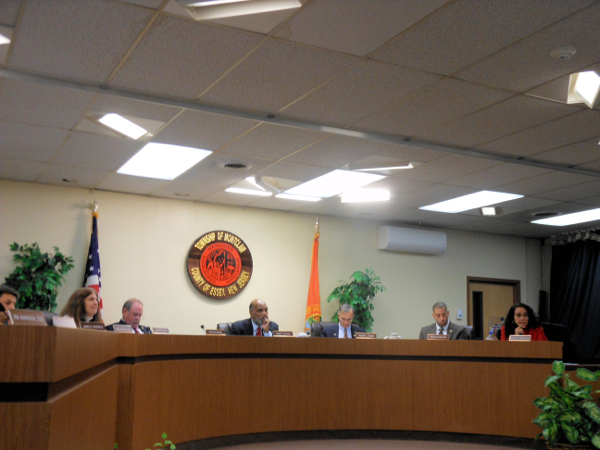 Montclair Township Council 12-30-13