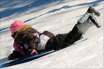 Bring Your Sled, Toboggan or Tube to Bloomfield's Pulaski Park , 4-9 p.m.
