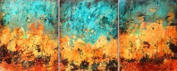 Moonan Triad (triptych)