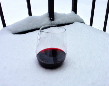 Save that glass of wine for apres shovel.