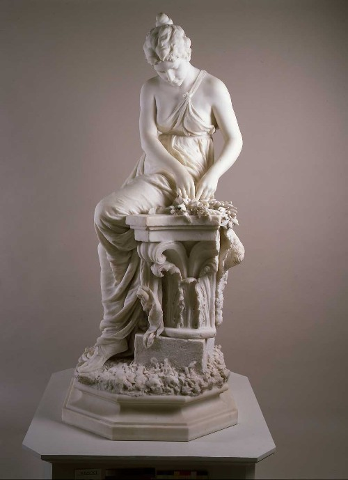 William Couper (1853-1942)  Crown for the Victor, 1896  marble  Montclair Art Museum: Gift of Mr. and Mrs. Henry Lang  1913.7