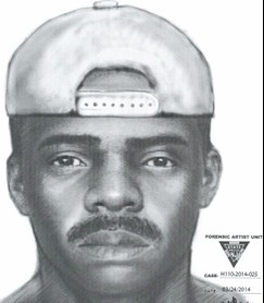 montclair police intruder sketch