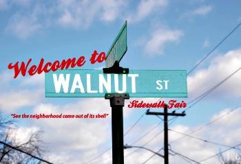 Welcome to Walnut Street Sidewalk Fair