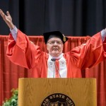 Author James Patterson Delivers Commencement Address at MSU