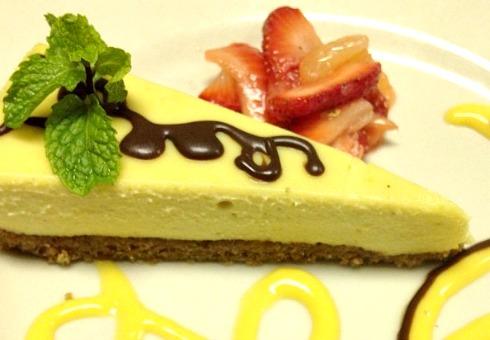 Raw Meyer Lemon Cashew Cheesecake