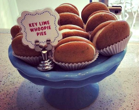 key lime whoopie pie