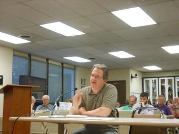 Montclair Water Bureau Director Gary Obszarny