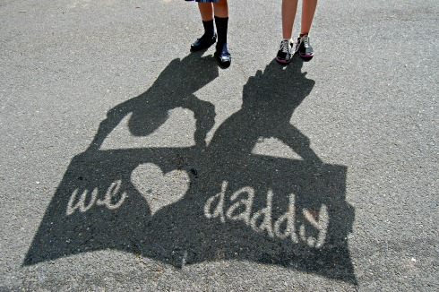 Shadow Photo Cards For Father's Day