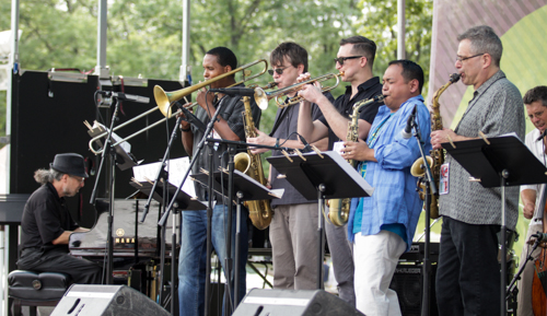 Jazz House Kids Faculty: Radam Schwartz, Julius Tolentino, Mike Lee, Ted Chubb and Ed Palermo.