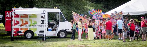 MAM Art Truck was a crowd favorite.